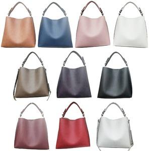 全10色♪長めのワンハンドルタイプの2wayトートバッグ/ピンク f04