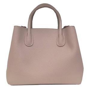 荷物の多い人におすすめ♪ビジネス仕様の上品トートバッグ/ベージュ h01