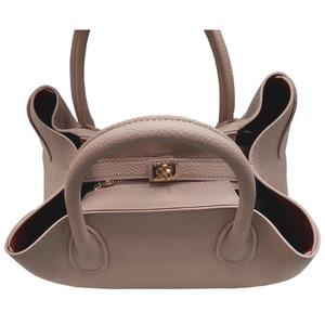 荷物の多い人におすすめ♪ビジネス仕様の上品トートバッグ/ベージュ h02