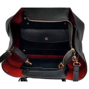 荷物の多い人におすすめ♪ビジネス仕様の上品トートバッグ/ベージュ h03