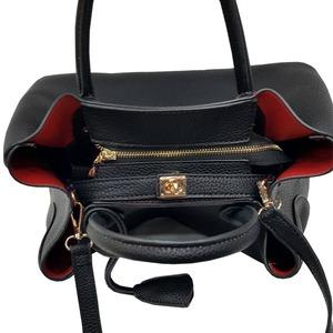 荷物の多い人におすすめ♪ビジネス仕様の上品トートバッグ/ベージュ f05