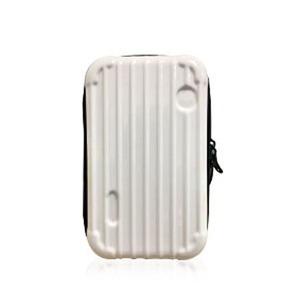 中身が潰れないスーツケース型ポーチ/アイボリー h01