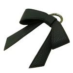 シンプルなBIGサイズリボンチャーム/ブラック