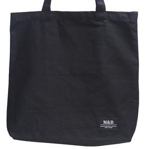 ハンドル長め♪横長デザインのマチたっぷりトートバッグ/ブラック h01