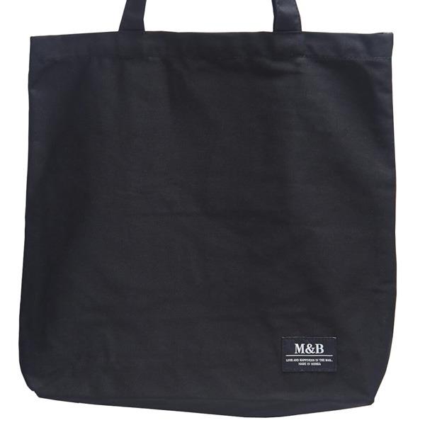 ハンドル長め♪横長デザインのマチたっぷりトートバッグ/ブラックf00