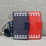 MrH(ミスターエイチ)スマホウォレットケース/ノルディックレッドByiPhone6Splus