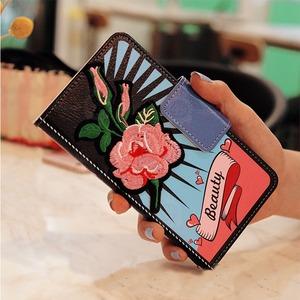 MrH(ミスターエイチ)スマホウォレットケース/オリエンタルポップビューティーピンク iphone6splus - 拡大画像