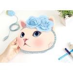 JETOY(ジェトイ) 顔型マウスパッド/ブルーローズ