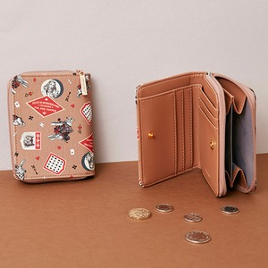 7321Design(7321デザイン) 可愛いギフトボックスに入った小銭入れ付ミニ財布/BBH/トロピカルジャングル(ブラック)