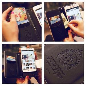 MrH(ミスターエイチ)スマホウォレットケース/ソボロブルームByiphone8plus