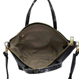 くったり柔らかい本革製♪ビジネスに使えるシンプルトートバッグ/ワイン