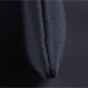 可愛いプリント入♪ハンドル長めの縦長モノトーントートバッグ(薄型)/ブラック
