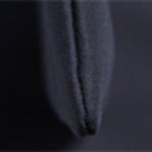 可愛いプリント入♪ハンドル長めの縦長モノトーントートバッグ(薄型)/アイボリー