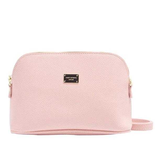 全13色♪優しいフォルムのブガッティ型ミニショルダーバッグ/ピンク