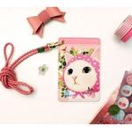 JETOY(ジェトイ) カードネックストラップ/ピンクずきん