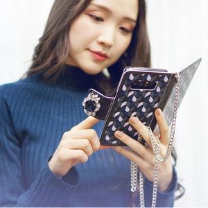 MrH(ミスターエイチ)スマホウォレットケース/ジオンサファイアByiphone8plus