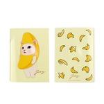 JETOY(ジェトイ) Choochoo ミニノート (バナナ)2冊セット
