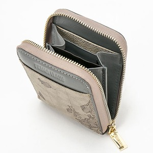 PRIMA CLASSE(プリマクラッセ) P-7707 縦長タイプ小銭入れ&カード財布 (グレイ)
