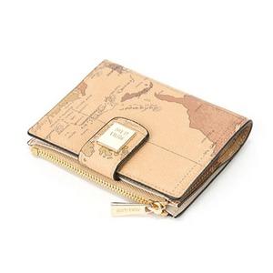 PRIMACLASSE(プリマクラッセ)PSW8-2133収納出来る二つ折り財布/ブラウン