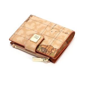 PRIMACLASSE(プリマクラッセ)P-7503-1たっぷり収納コンパクトミニ財布(ブラウン)
