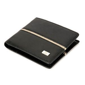 PRIMA CLASSE(プリマクラッセ) P-3002-1 メンズ二つ折り財布/ブラック