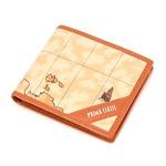 PRIMA CLASSE(プリマクラッセ) P-3004-1 ユニセックス二つ折り財布 (ブラウン)