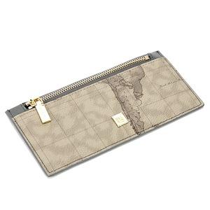 PRIMACLASSE(プリマクラッセ)P-7507小さめバッグにも入る薄型長財布(グレイ)