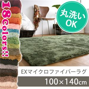 スミノエ EXマイクロファイバーラグ 100×140cm アプリコットオレンジ MS-300の詳細を見る