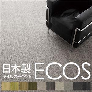スミノエ タイルカーペット 日本製 業務用 防炎 撥水 防汚 制電 ECOS ID-4007 50×50cm 16枚セットの詳細を見る
