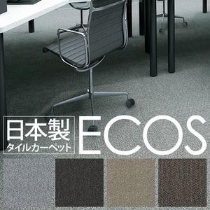 スミノエ タイルカーペット 日本製 業務用 防炎 撥水 防汚 制電 ECOS ID-5002 50×50cm 16枚セットの詳細を見る