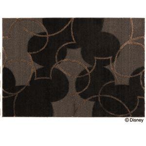 スミノエ DISNEY DRM-1004ラグ MICKEY/Pearl line RUG 100×140cm ブラックの詳細を見る