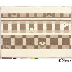 スミノエ DISNEY DRM-1012ラグ MICKEY/Texture line RUG 100×140cm アイボリーの詳細を見る