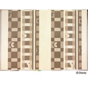スミノエ DISNEY DRM-1012ラグ MICKEY/Texture line RUG 140×200cm アイボリーの詳細を見る