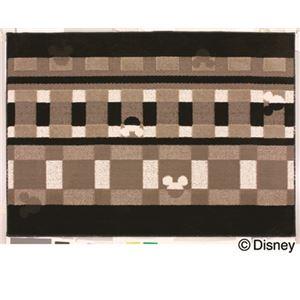 スミノエ DISNEY DRM-1012ラグ MICKEY/Texture line RUG 100×140cm ブラックの詳細を見る