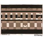 スミノエ DISNEY DRM-1012ラグ MICKEY/Texture line RUG 100×140cm ブラック 【日本製】