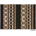スミノエ DISNEY DRM-1012ラグ MICKEY/Texture line RUG 140×200cm ブラック 【日本製】