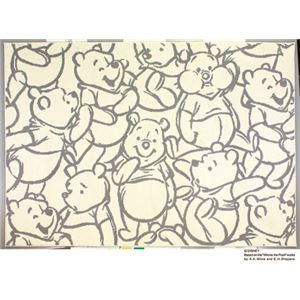 スミノエ DISNEY DRP-1013ラグ POOH/Smile RUG 100×140cm グレーの詳細を見る