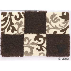 スミノエ DISNEY DMM-4027マット MICKEY/Checker board MAT 50×80cm ブラウンの詳細を見る