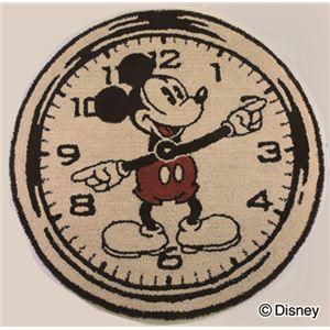 スミノエ DISNEY DRM-4000ラグ MICKEY/On the clock! RUG 100×100cm ベージュの詳細を見る