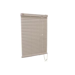 アルミ製ブラインド【遮熱コート128cm×108cmアイボリー】日本製折れにくい光量調節熱効率向上『ティオリオ』