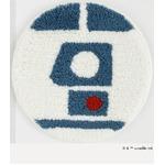 スミノエ スターウォーズ チェアマット R2-D2 DRW-4015 35×35cm ブルー 【日本製】