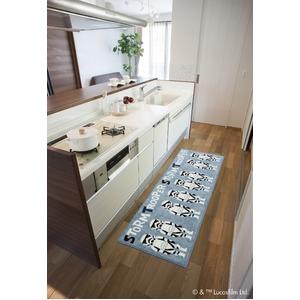 スミノエ スターウォーズ キッチンマット ストームトルーパー DMW-5001 45×180cm 【日本製】 - 拡大画像