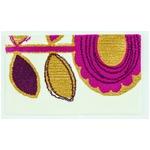デザインライフ 玄関マット 室内/屋内用 SUN FLOWER(サンフラワー) 45×75cm ピンク 【日本製】