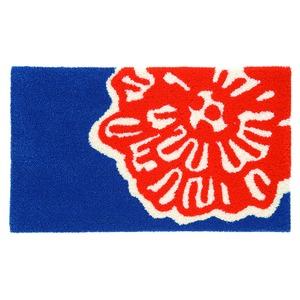 デザインライフ 玄関マット 室内/屋内用 DAIRIN(ダイリン) 45×75cm ブルーの詳細を見る