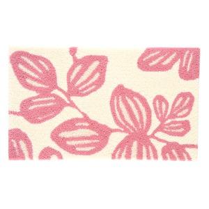 デザインライフ 玄関マット 室内/屋内用 YUKARI(ユーカリ) 45×75cm ピンクの詳細を見る