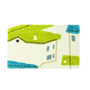 デザインライフ 玄関マット 室内/屋内用 YANEIRO(ヤネイロ) 45×75cm ブルーの詳細を見る