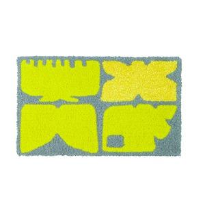 デザインライフ 玄関マット 室内/屋内用 KAIGARA(カイガラ) 45×75cm グレーの詳細を見る