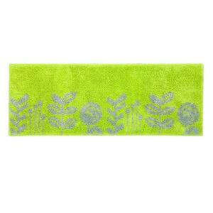 デザインライフ キッチンマット MICHIKUSA(ミチクサ) 45×180cm イエローグリーンの詳細を見る