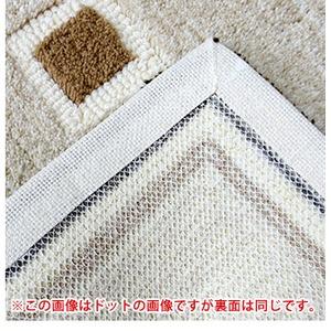 玄関マット/フロアマット 【ドット柄 45cm...の紹介画像4