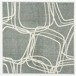 【送料無料】ホット&クール ナイロンラグ レシェ 200×250cm グレーの画像
